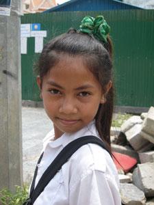 Gril of Cambodia