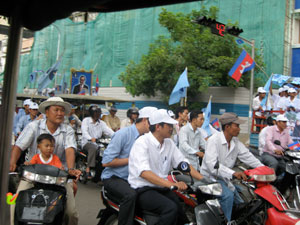 Political elections in Cambodia