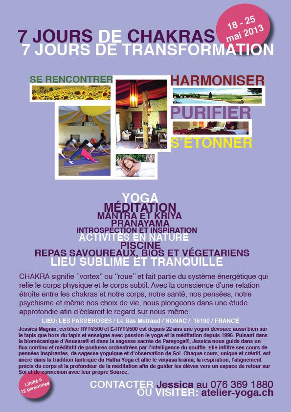 Chakra retreat 2013