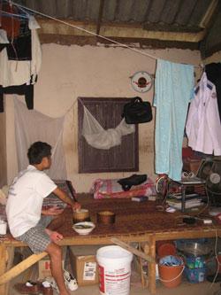 Phete's room