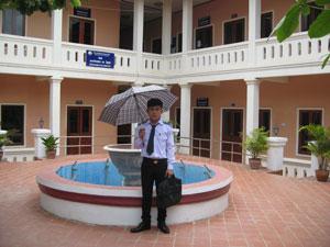 Sengphete at University